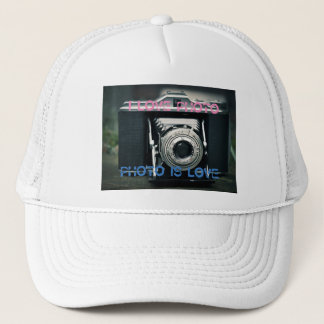 Cap I LOVE PHOTO PHOTO IS LOVE