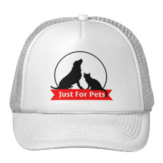"""Cap """"Just will be Pets """" Mesh Hat"""