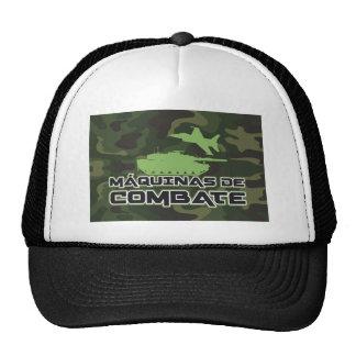 Cap Machines of Combat Camouflaged Fund Hats