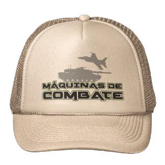 Cap Machines of Combat White Fund Hats