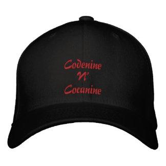 Cap man Codenine Cocanine Embroidered Hat