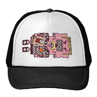 cap series zampabollos. trucker hat