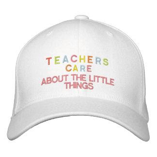 CAP Teachers Care   ETC2 Embroidered Baseball Cap