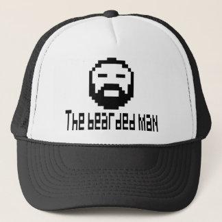 cap the bearded man 8 bit