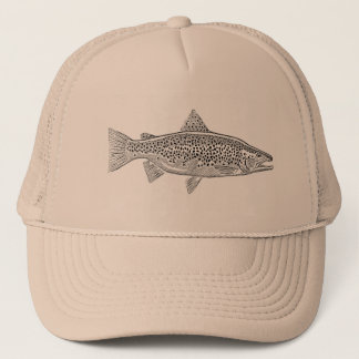 Cap Trucker Full Fario Trout