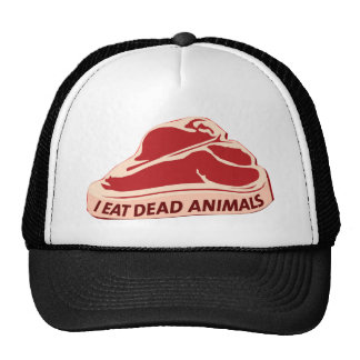 Cap Trucker I eat dead animals