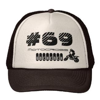 Cap Ulysses Bochenek Motocross #69 Trucker Hat