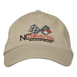 Cap, unstructured, adjustable embroidered cap