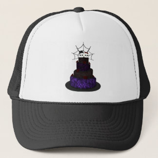 Cap with a Gothic wedding cake