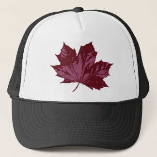 Cap with a Maple Leaf Symbol