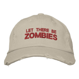"Cap ""Worn Look"" Let There Be Zombies"