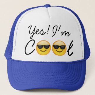 Cap- Yes! I'm Cool Trucker Hat