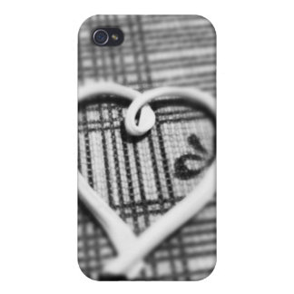 Capa Coração AC iPhone 4 Capa