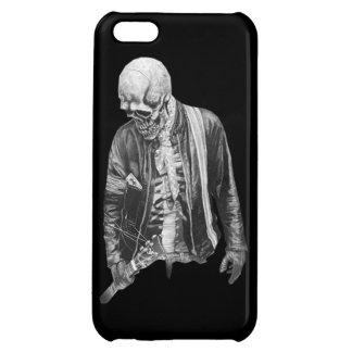 Capa de Celular iPhone Guitarrista Caveira iPhone 5C Cover