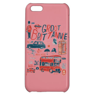 Capa de Celular iPhone Londres iPhone 5C Cover