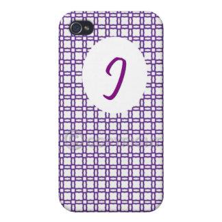 Capa de iPhone 4/4S - J White iPhone 4/4S Case