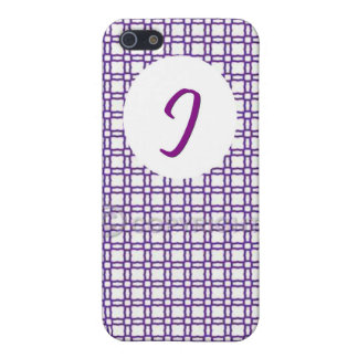Capa de iPhone 5/5S - J White Case For iPhone 5/5S