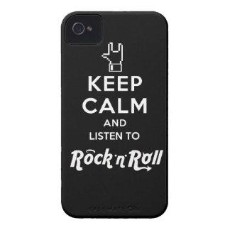 Capa iPhone4 light Keep Calm... Rock 'n' Roll iPhone 4 Covers