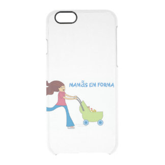 Capa para iPhone 6/6S Mamãs em Forma Clear iPhone 6/6S Case