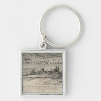 Capay Valley, Harlan farm Key Ring