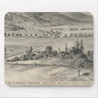 Capay Valley, Harlan farm Mouse Pad