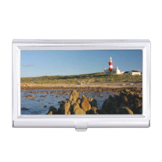 Cape Agulhas Lighthouse, Western Cape 2 Business Card Holder