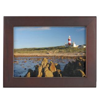 Cape Agulhas Lighthouse, Western Cape 2 Keepsake Box