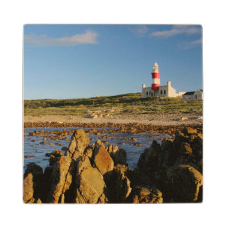 Cape Agulhas Lighthouse, Western Cape 2 Wood Coaster