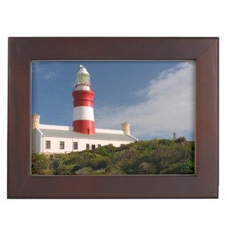 Cape Agulhas Lighthouse, Western Cape 3 Keepsake Box