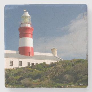Cape Agulhas Lighthouse, Western Cape 3 Stone Coaster
