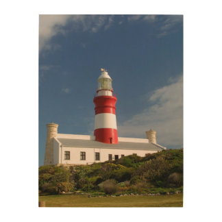 Cape Agulhas Lighthouse, Western Cape 4 Wood Wall Decor