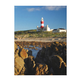 Cape Agulhas Lighthouse, Western Cape Canvas Print