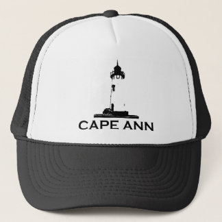 Cape Ann - Lighthouse Design. Trucker Hat