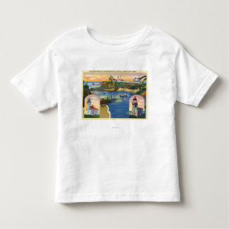 Cape Arago Bridge and Lighthouse Mouth Toddler T-Shirt