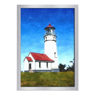 Cape Blanco Oregon Lighthouse 13 Cm X 18 Cm Invitation Card