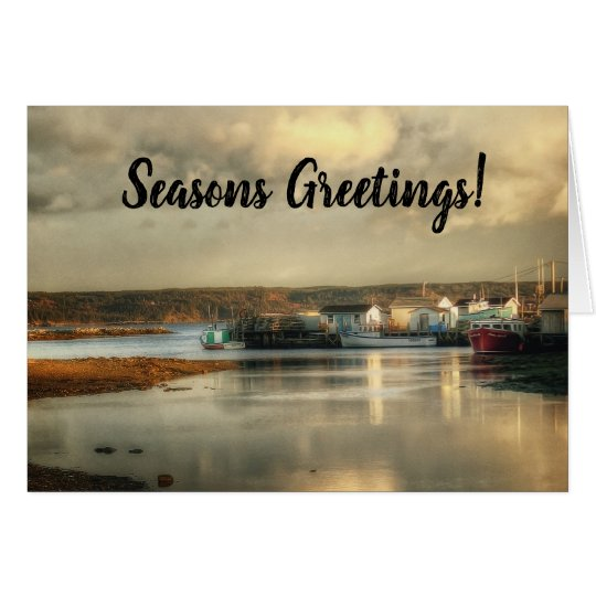 Cape Breton Island Canada Christmas Card