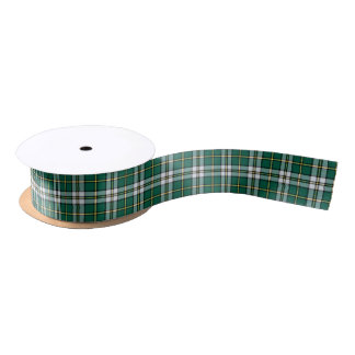 Cape Breton Nova Scotia Canada Tartan Satin Ribbon
