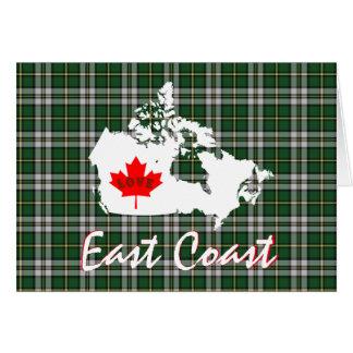 Cape Breton tartan Customize Love East Coast card