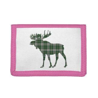 Cape Breton Tartan moose wallet