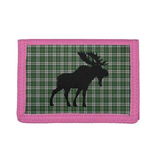 Cape Breton Tartan  wallet moose