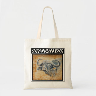 Cape Buffalo logo tote bag