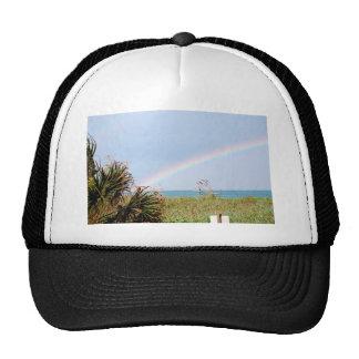 Cape Canaveral Rainbow Trucker Hats