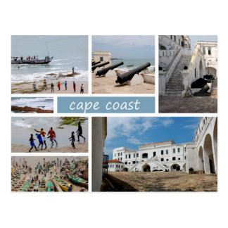 Cape Coast postcard