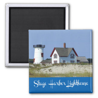 Cape Cod, Chatham, Massachusetts Lighthouse Magnet