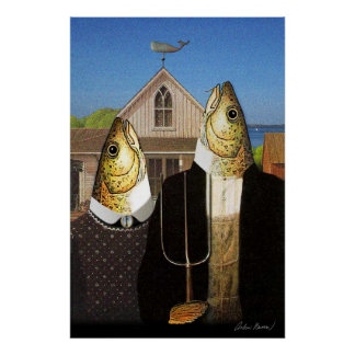Cape Cod Gothic Poster