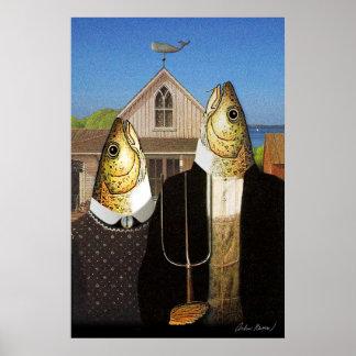 Cape Cod Gothic Print