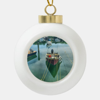 Cape Cod Harbour Christmas Tree Ornament