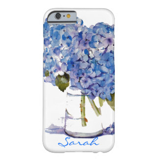 Cape Cod Hydrangeas iPhone 6 case Personalized Barely There iPhone 6 Case