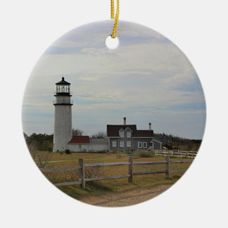 Cape Cod Light Christmas Ornament