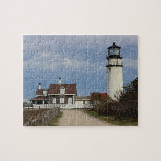 Cape Cod Light Jigsaw Puzzle
